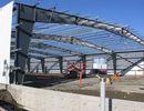 China Kundengebundenes langlebiges Gut Vor-führte Gebäude-Stahl-Grad Q235/Q345 aus usine