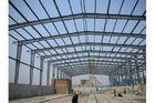 China Groß-Spanne kundengebundenes galvanisiertes Baustahl-Herstellungs-Feld-Lager usine