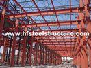 China PPGI-Stahl täfelt Wand vorfabrizierte Handelsstahlfabrik mit Feuer Resistenc-Behandlung usine