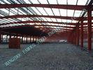 China H-Abschnitt-Strahlen/Spalten-Stahlbaugebäude führten vor 80 x 100 Clearspan aus usine