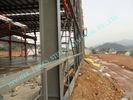 China ASTM ASD fabrizierte die Stahlgebäude vor, vor ausgeführt 85' Kraftwerk-Projekt-Werkstätten X 100 ' usine