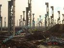 China Stahlbaugebäude der Zementfabrik-ASTM, Fertigstahlgebäude usine