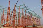 China Industrielle ASTM-Stahlbaugebäude, Fertighaus 75 x 120 Multipan-Metallgebäude usine