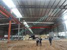 China 60 x 102 leichte industrielle Stahlsandwich-Platten der gebäude-ASTM der Standard-75MM usine