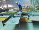 China Handelsstahlabschnitt-Strahln-überzogene graue Malerei der gebäude-H vor ausführen usine