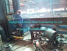 China H formen Spalten-strukturelle industrielle Stahlgebäude S355JRC/Grad 50 ASTM A572 usine