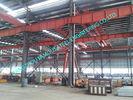China Metall kundengebundene industrielle Stahlvorfabriziertgebäude-einfache Aufrichtung mit c-Purlins usine