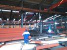 China Gebogene Sandwich-Platten-Dach-landwirtschaftliche strukturelle Gebäude-Stahlhalle usine