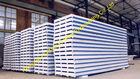 China Gewölbte Metallvorfabriziertdeckung bedeckt Sandwich ENV PU-Steinwolle usine