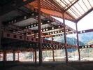 China Heißes Bad galvanisiert, schweißend und bremsen und rollen, vorfabrizierter Stahl Vor-Ausgeführtes Gebäude usine