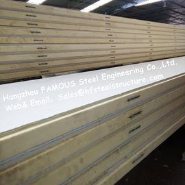 Polystyren-Kühlraum täfelt Dichte 42kg mit Farbstahl-/-Edelstahl-Platte External
