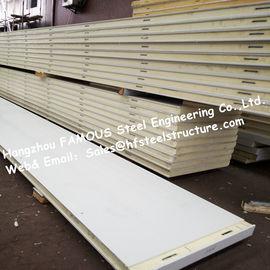 Dichte der Isoliermaterial-Polyurethan-Kühlraum-Platten-12kg für Kühlraum