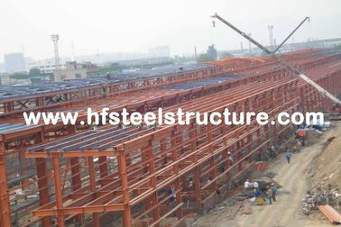 Breite Spannen-industrielles Stahlgebäude-Licht-Stahlkonstruktions-Gebäude