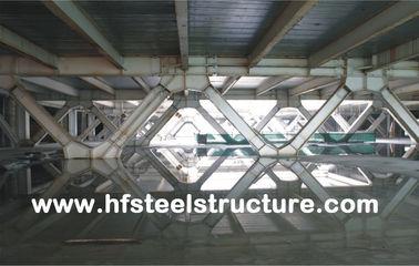 Gestaltungssystem-und vorfabriziertes Büro-mehrstöckiges Stahlgebäude für Mall, Hotel