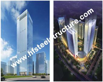 Kundenspezifisches vorfabriziertes industrielles Q235, mehrstöckiges Stahlgebäude des Stahlspeicherq345