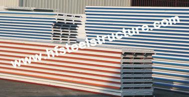 ENV-/PU-Metalldeckung bedeckt mit Farbstahlsandwich-Platte