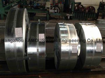Kaltgewalzte heiße eingetauchte galvanisierte Stahlstreifen galvanisierte Stahlspule 600mm - 1500mm Breite