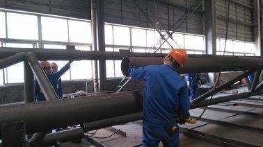 Vor-Technik Komponenten-Baustahl-Herstellungen für industrielles Stahlgebäude