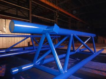 Vor-Technik modulares Stahlgebäude mit einfachem Versammlungs-Haltbarkeits-Stahl
