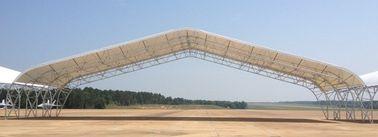 Vorfabrizierte friedliche Binder-Flugzeug-Hangar-Stahlgebäude mit großer Spanne