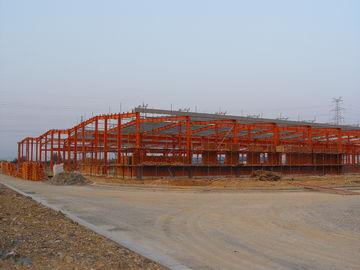 Industrielle Vertrag abschließende Stahlbauten, vorfabrizierter Stahl-Gestaltungssysteme