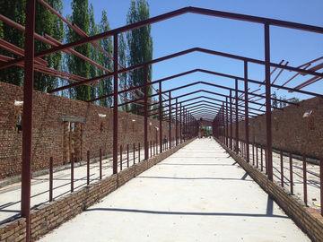 Vorfabrizierte strukturelle Lager-Stahlwerkstatt-Stahlkuhstall und Bau