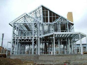 Heller Stahllandhaus-Entwurf und Herstellung basiert auf verschiedenen Standards