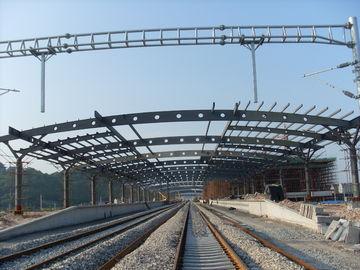 Bahnhofs-strukturelles Metallbinder-Gebäude, rostfreie Malerei mit 2-4 Schichten