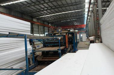 Gewohnheit Vor-führte vorfabriziertes industrielles Schweißens-Metalldeckungs-Blatt-System aus